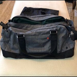 Lululemon Gray Duffle Bag
